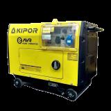 Дизельный генератор KIPOR KDE 7000 TD