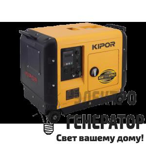 Дизельный генератор KIPOR KDE7500STA3