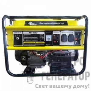 Бензиновый генератор Кентавр КБГ505Э