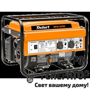 Бензиновый генератор Defort DPG-2500
