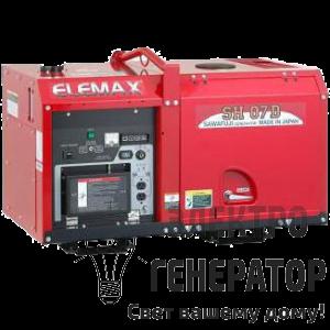Дизельный генератор Elemax SH07D
