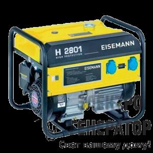 Бензиновый асинхронный генератор EISEMANN H2801