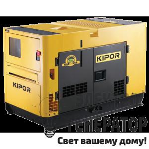 Дизельный генератор KIPOR KDE11SSP