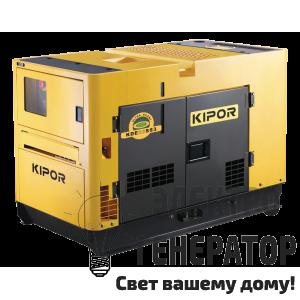 Дизельный генератор KIPOR KDE20SS3