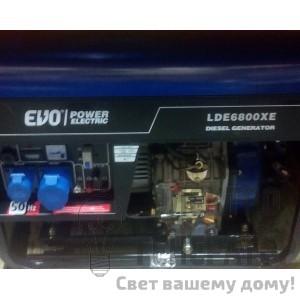 Дизельный генератор Power Electric LDE6800XE