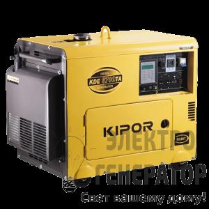 Трёхфазный генератор KIPOR KDE6700TA3