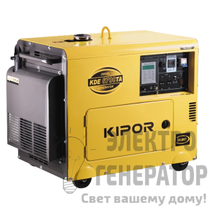 Трёхфазный генератор KIPOR KDE8000TA3