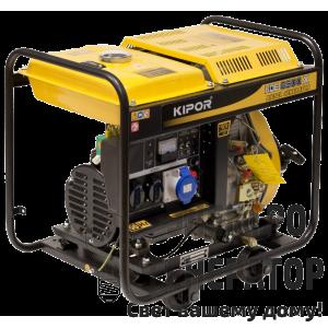 Дизельный генератор KIPOR KDE6500X3