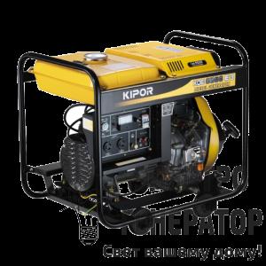 Трехфазный генератор KIPOR KDE6500E3