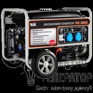 Бензиновый генератор NIK (США) PG 3800